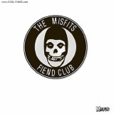 Misfits Fiend Club Logo Enamel Pin