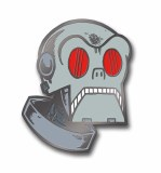 Forbidden Planet Planetron Hard Enamel Pin