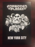 Forbidden Planet NYC Vertical Postcard