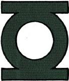 Green Lantern Logo Patch