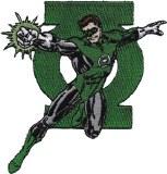 Green Lantern & Logo Patch