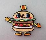 Hello Sanrio Yummy Chums Burger Patch