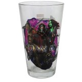 Avengers Infinity War Guardians Of The Galaxy Power Stone Pint Glass