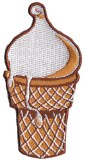 50's Ice Cream Cone Patch