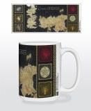 Game of Thrones Westeros Map Mug