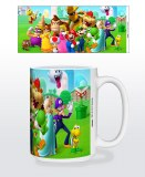 Super Mario Mushroom Kingdom 15oz Mug