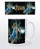 Legend of Zelda Breath of the Wild Game Cover 15oz Mug