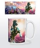Legend of Zelda Breath of the Wild Guardian Chase 15 oz Mug