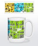 Super Mario Legacy 15 oz Mug