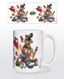 Super Mario Odyssey Cap Montage Mug