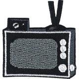 Retro TV Set Patchpin