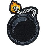 Cartoon Bomb Patchpin