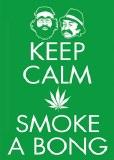 Cheech & Chong Keep Calm Magnet