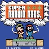 Cheech and Chong Barrio Bros 3 Magnet