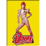 David Bowie Pose Magnet