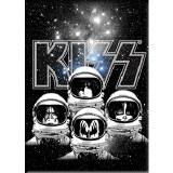Kiss Astronauts Magnet