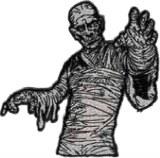 Mummy Boris Karloff Body Patch