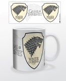 Game of Thrones Winter is Coming White Mug