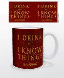 Game of Thrones Drink and Know Things 11 oz Mug
