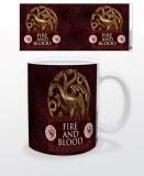 Game of Thrones Targaryen Metal Sigil 11 oz Mug