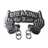 Night Watch Breaking The Law Lapel Pin