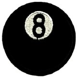 Classic 8-Ball Patch
