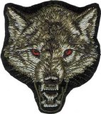 Snarling Wolf Patch