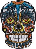 DSX Candy Skull Patch
