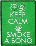 Cheech & Chong Keep Calm Smoke a Bong Patch