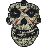 Misfits Crystal Lake Skull Patch