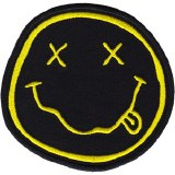 Nirvana Smiley Patch