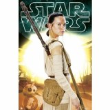 SALE Star Wars Episode VII The Force Awakens Rey with Staff Poster