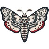 Skull Moth Patch