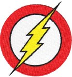DC Comics Originals Flash Logo Patch