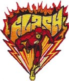 DC Comics Flash Fast Run Patch