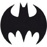 DC Batsignal Logo Back Patch