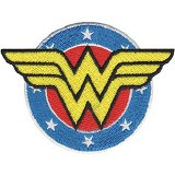 DC Comics Originals Wonder Woman Logo Patch