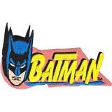 DC Comics Batman Retro Head Patch