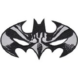 DC Comics Batman Mask Logo Patch