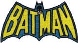Batman Cape Logo Patch
