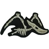 Pterodactyl Skeleton Patch
