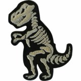 T-Rex Skeleton Patch