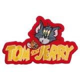Tom & Jerry Logo Patch