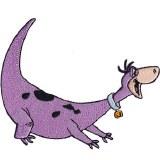 Flintstones Dino Patch