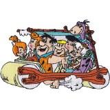 Flintstones Family Car Patch