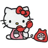 Hello Kitty Hello Telephone Patch