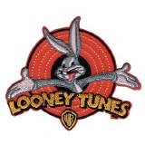 Looney Tunes Bugs Bunny Old School Patch