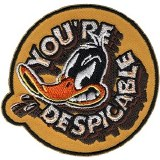 Looney Tunes Daffy Duck You're Despicable Patch
