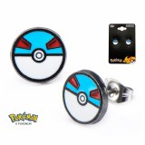 Pokemon Greatball Stud Earrings
