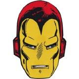 MVL Iron Man Head Back Patch